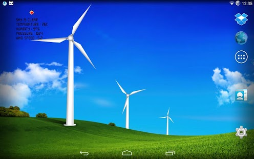 Wind turbines - meteo station