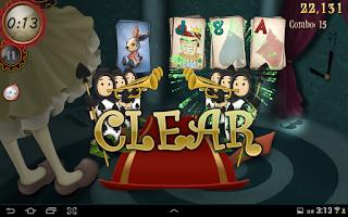 Screenshot of Solitaire Wonderland