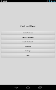 Flash Card Maker - screenshot thumbnail