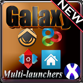 Galaxy Theme GO ADW APEX NOVA