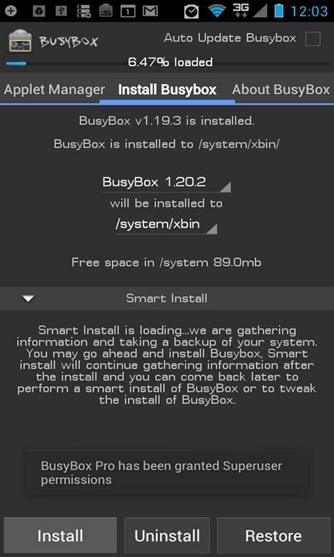 BusyBox Pro - screenshot