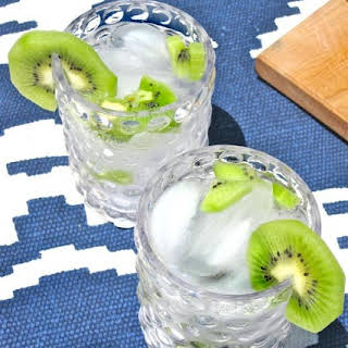 Kiwi Vodka Tonic.
