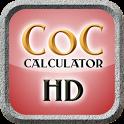 Clash of Clans Calculator HD icon