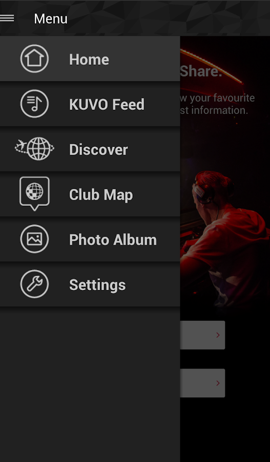 KUVO- screenshot