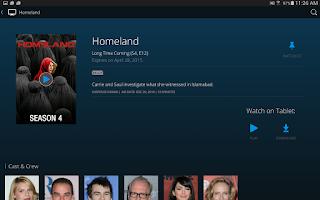 Screenshot of Spectrum TV