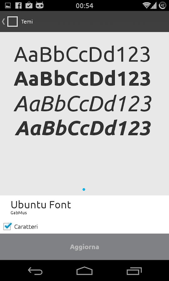 Ubuntu Font - CM11/PA - Android Apps on Google Play Ubuntu Font Android