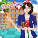 Pregnant nurse games for girls icon