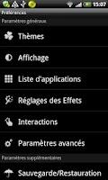 Screenshot of GO LauncherEX Catalan language