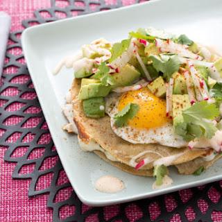 Kale & Queso Oaxaca Quesadillas with Fried Eggs