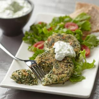 Vegetarian Spinach Patties Recipes.