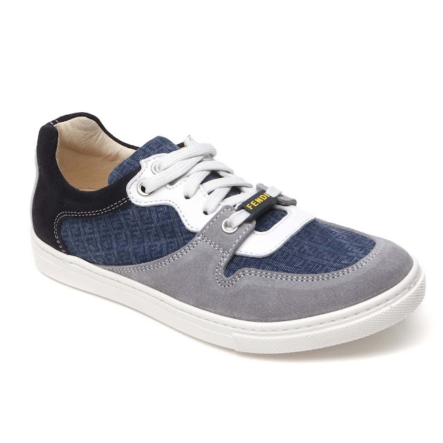 Lace Branded Trainer