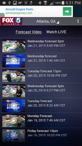 玩免費天氣APP|下載FOX 5 Storm Team app不用錢|硬是要APP