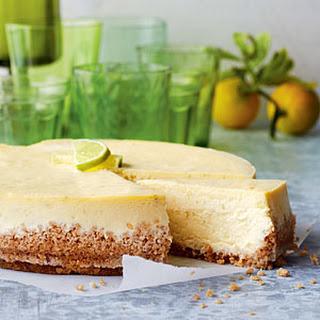 Key Lime Cheesecake.