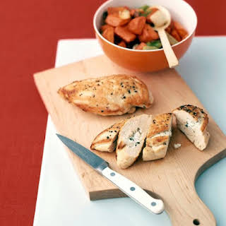 Chicken with Feta Cheese.