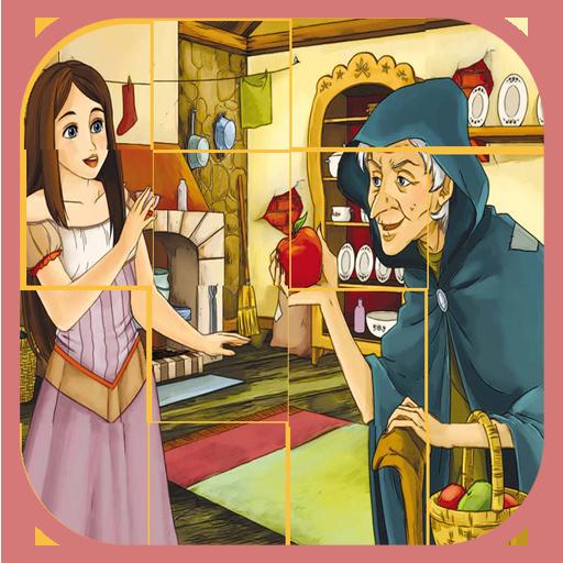 公主故事拼图的图像 解謎 App LOGO-硬是要APP