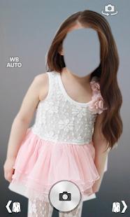 Kid Girl Fashion Photo Montage screenshot