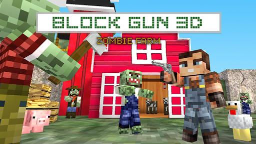 Block Gun 3D: Zombie Farm