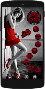 Dark Rouge Icon Pack screenshot 4