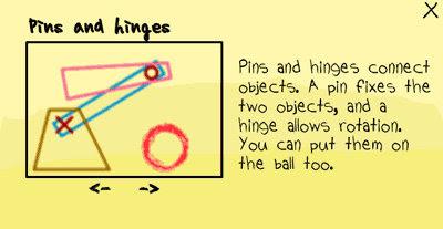 [小遊戲]魔法筆(MagicPen)利用固定物件與樞紐去連結每個物件