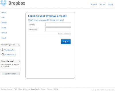 Dropbox註冊篇-07.登入