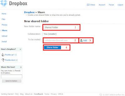 Dropbox邀請篇-01.建立分享資料