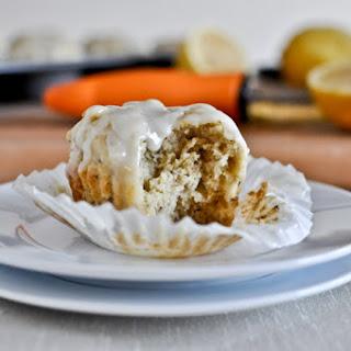 Lemon Cream Flax Muffins