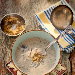 Creamy Mushroom Soup - Dairy Free