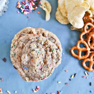 Crazy Confetti Compost Cookies.