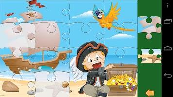 Screenshot of Kids Jigsaw Puzzle