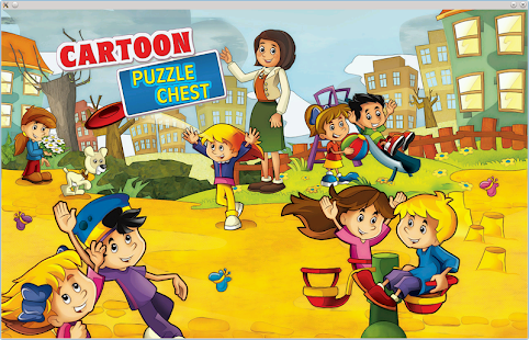 Cartoon Children Puzzle Chest- screenshot thumbnail