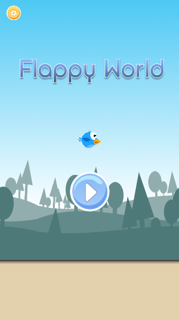 FLAPPY WORLD - screenshot