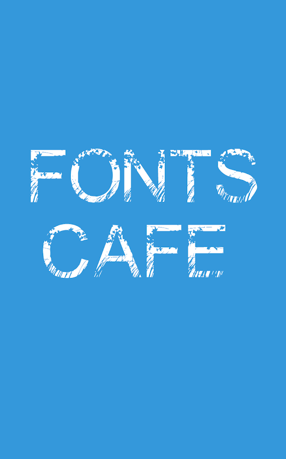 Font Cafe Android Apps On Google Play