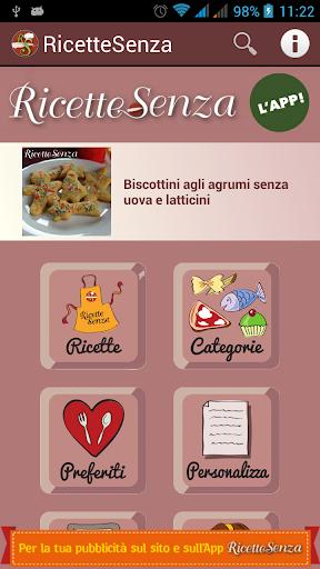 Ricette Senza