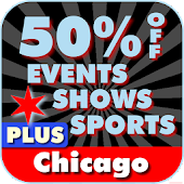 50% Off Chicago Events Plus