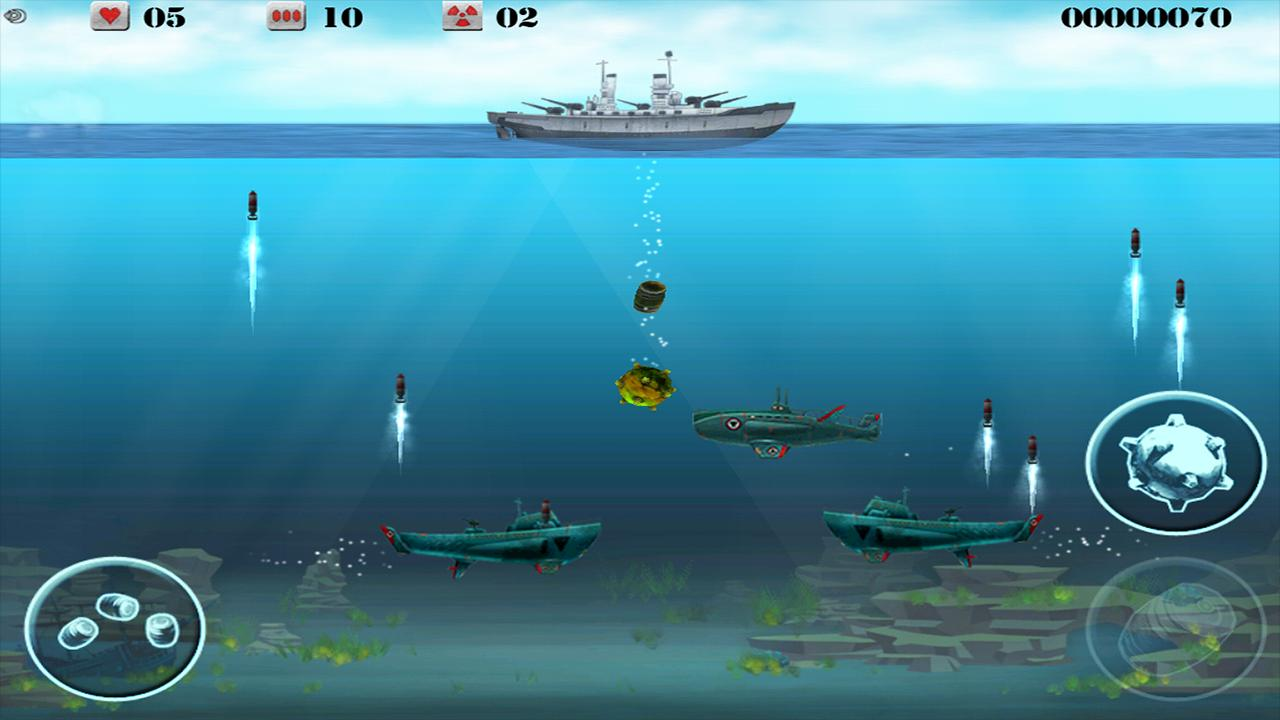Submarine Crusher Gold - screenshot