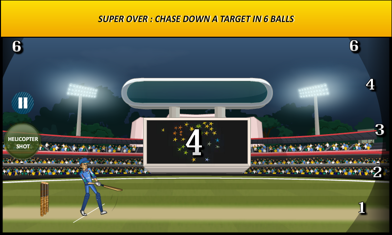 Cricket World Cup Game - screenshot