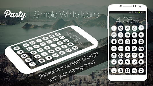 Pasty - Clean White Flat Theme v1.1.4