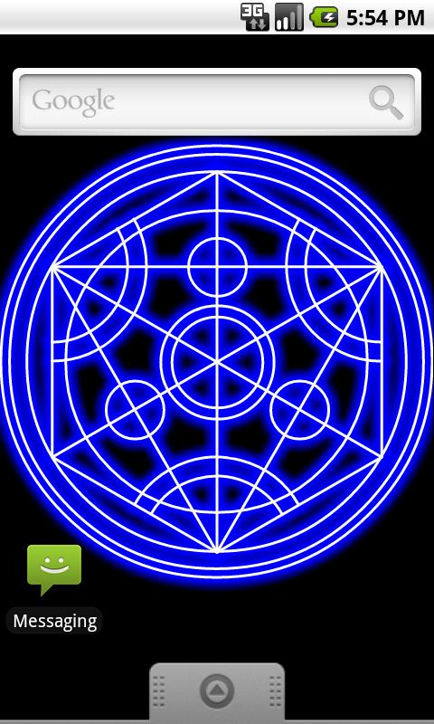 Transmutation Circle Live Wall - screenshot