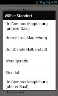 Mensa Magdeburg - screenshot thumbnail