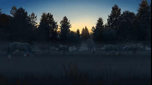 3D Ghost Horses