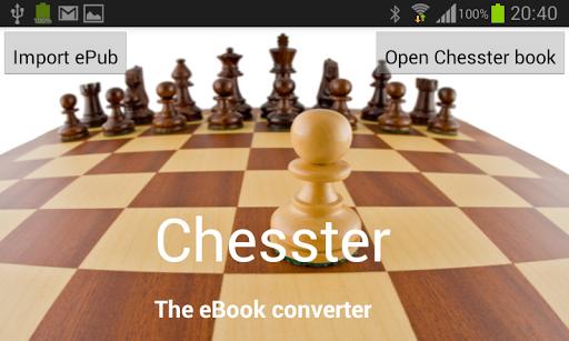 Chesster Lite Interactive read
