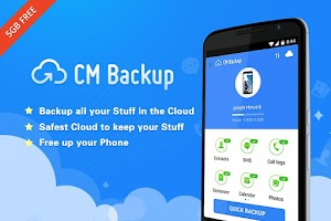 Screenshot of CM Backup - Safe,Cloud,Speedy