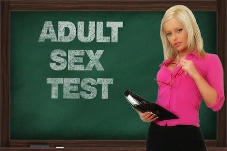 Adult Sex Test