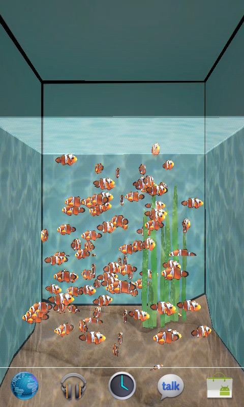 3D Aquarium LWP - screenshot