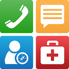 Simple Senior Phone icon