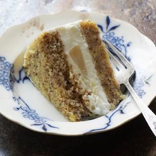 Ricotta Pear Cake