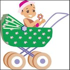 Baby Stroller icon