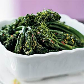 Ginger-Garlic Broccolini