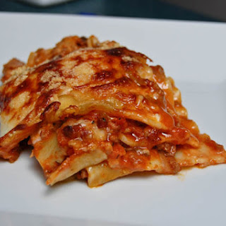 NOT Your Mother's Lasagna.