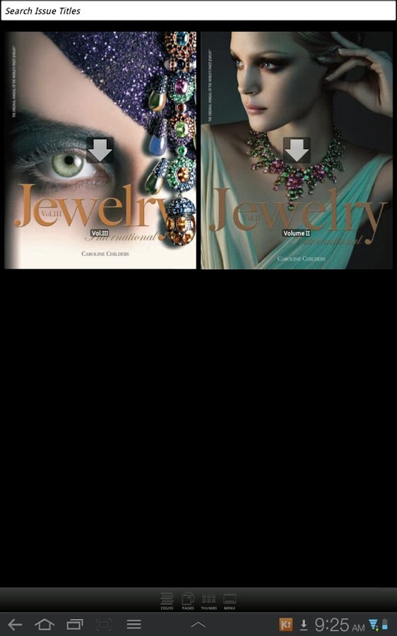 Jewelry International - screenshot